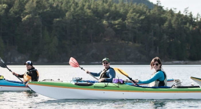 Take a kayak tour or rent a kayak from San Juan Island