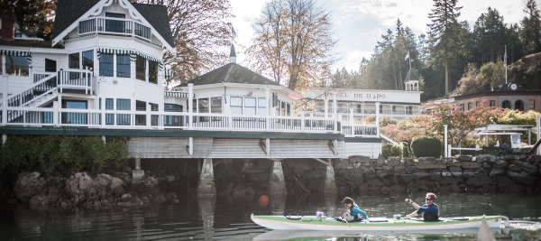 Roche Harbor Marina has kayaking and more