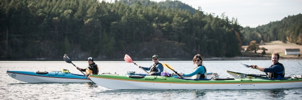Specialty and Custom Kayaking Tours from San Juan Island