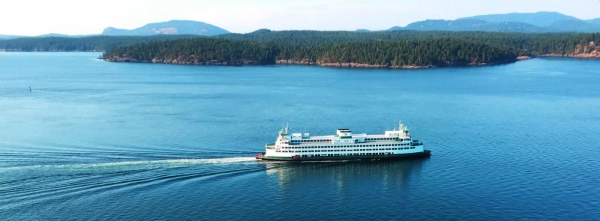 Ferry to Friday Harbor, San Juan Island and San Juan Safaris