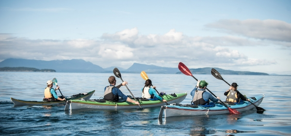 San Juan Outfitters is San Juan Island's premier sea kayak and whale watch tour company