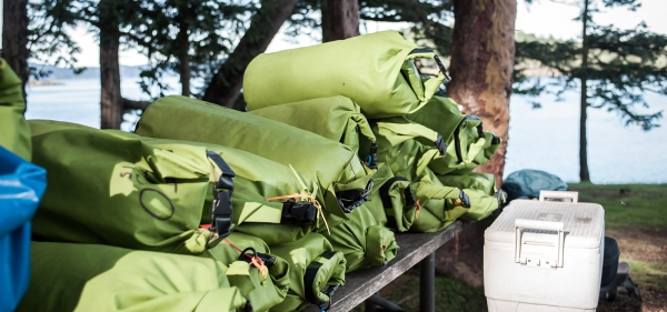 San Juan Outfitters provides all of the kayaking and camping gear so you don't have to worry about it
