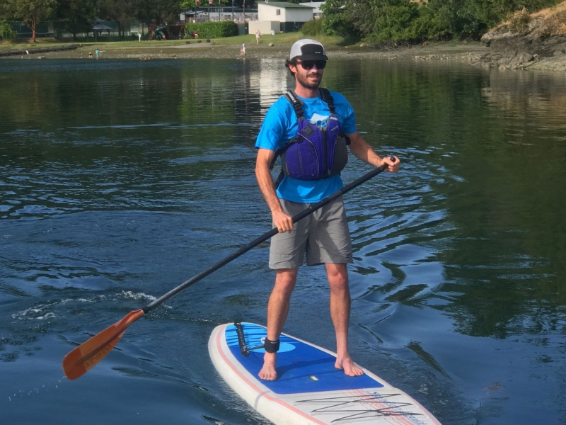 San Juan Outfitters Paddle Board Rentals from Friday Harbor
