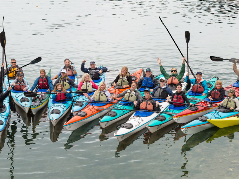 Plan your customized sea kayak camping tours in the San Juan Islands