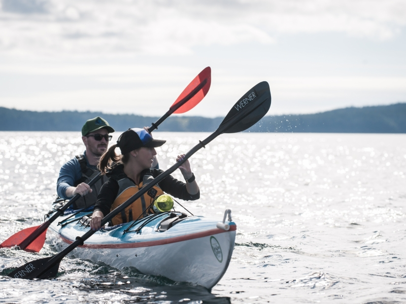 Kayak to Stuart Island from Friday Harbor