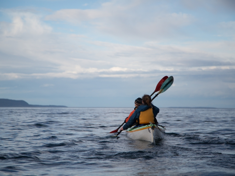 Kayaking the Whale Sanctuary offers amazing views of Vancouver Island and the San Juan Islands