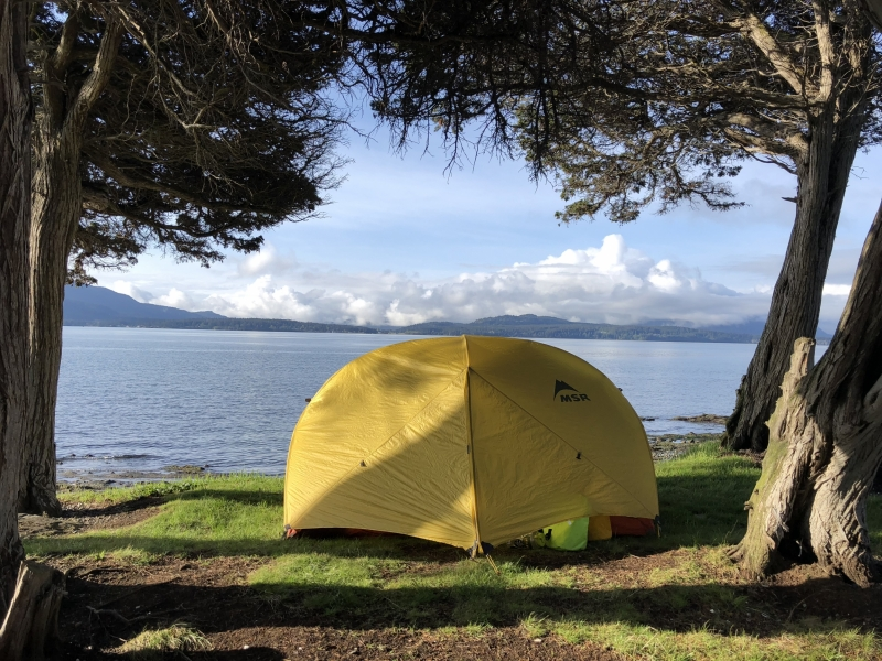 Camping at Sucia Island State Park