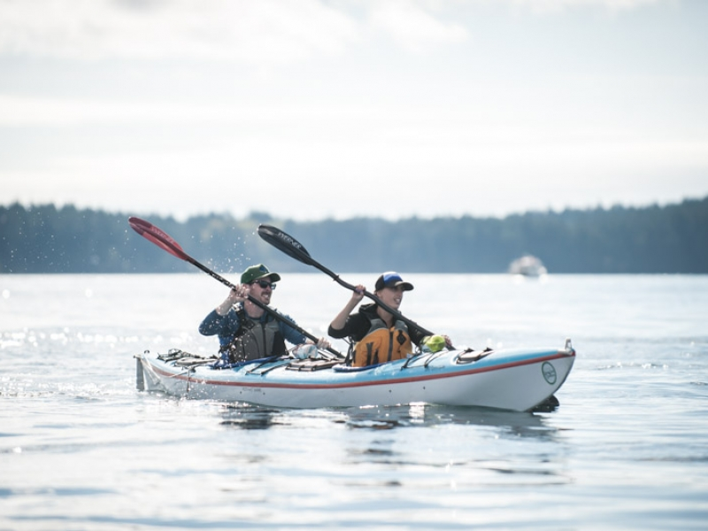 We provide the gear so all you need to worry about is enjoying the views and the adventure while sea kayaking in the San Juan Islands