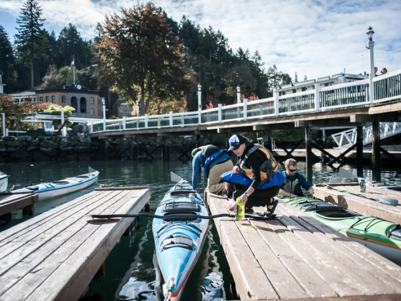 Start your San Juan Island Kayak Tour from Roche Harbor, San Juan Island