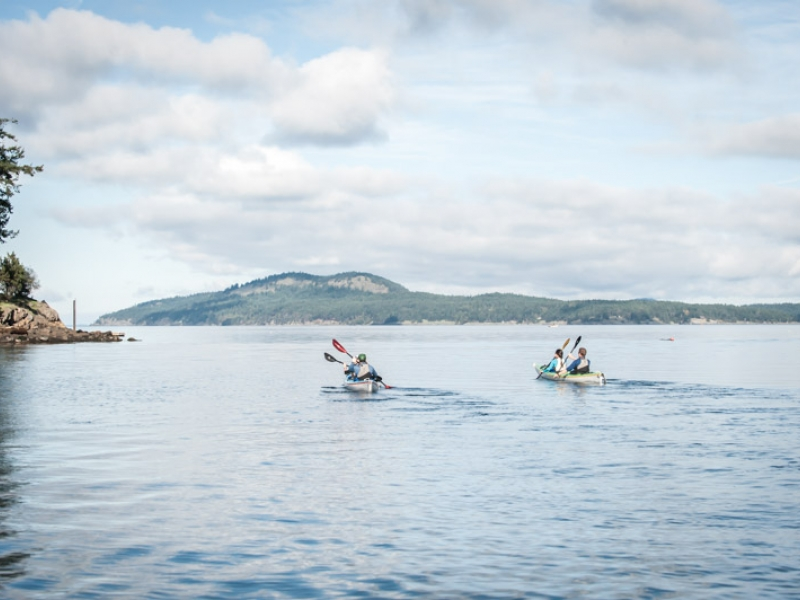 Kayak with San Juan Outfitters and get out into the natural environment
