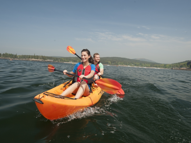 Hourly San Juan Outfitters sea kayak rentals