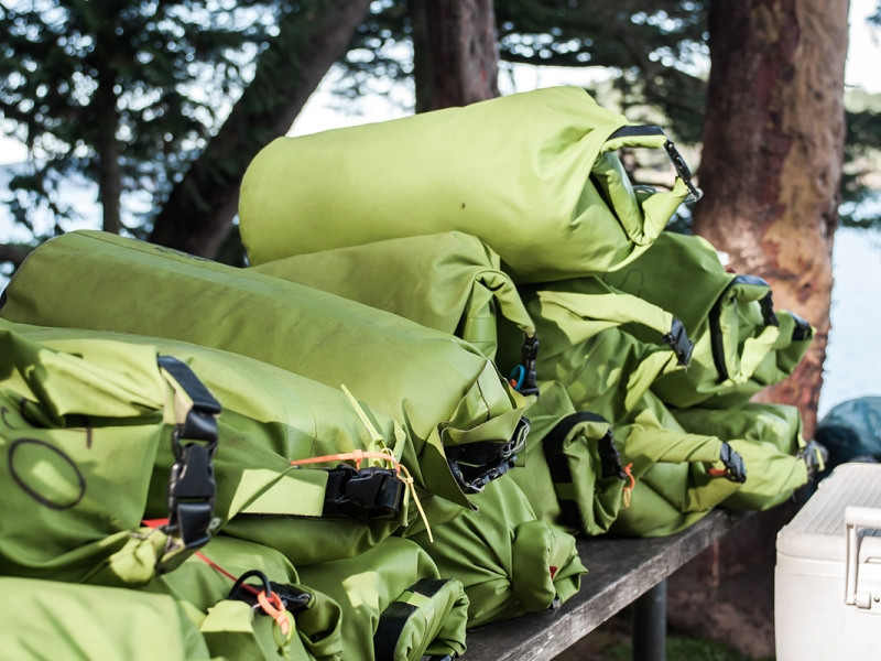 San Juan Outfitters provides all the gear and supplies for overnight kayak camping trips
