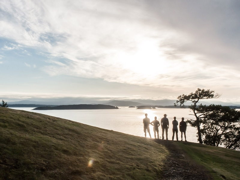 From kayaking to hiking, do it all while camping in the San Juan Islands