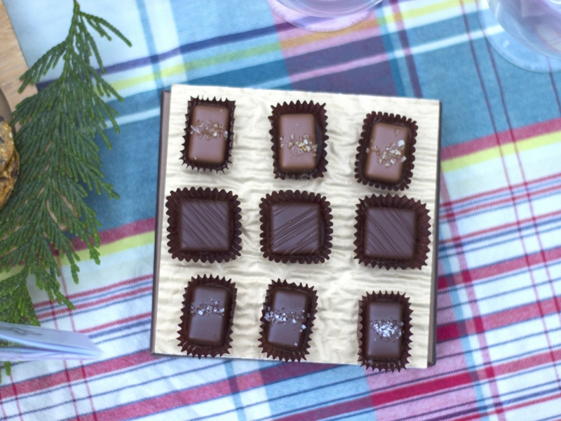 Specialty chocolates included in all-inclusive savor San Juan Islands kayak tours