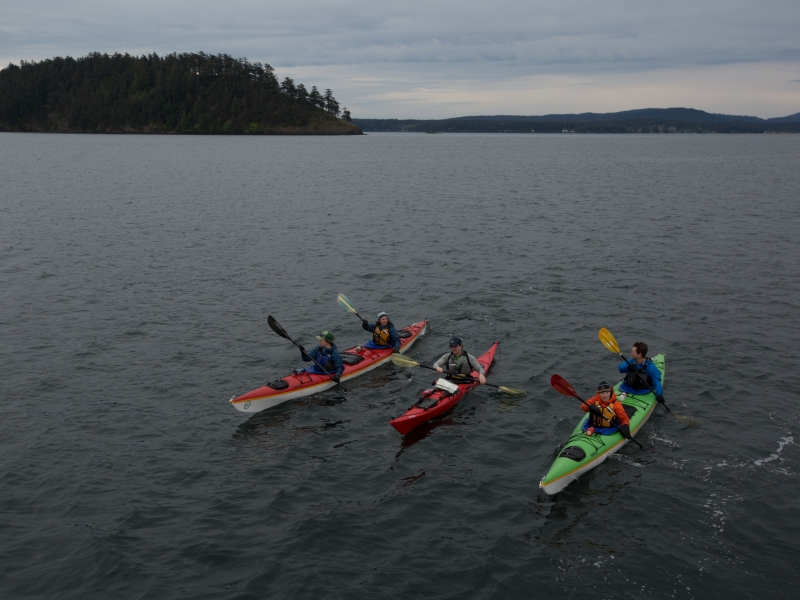 Kayaking in the San Juan Islands