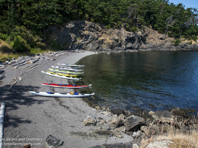 San Juan Outfitters sea kayak adventure