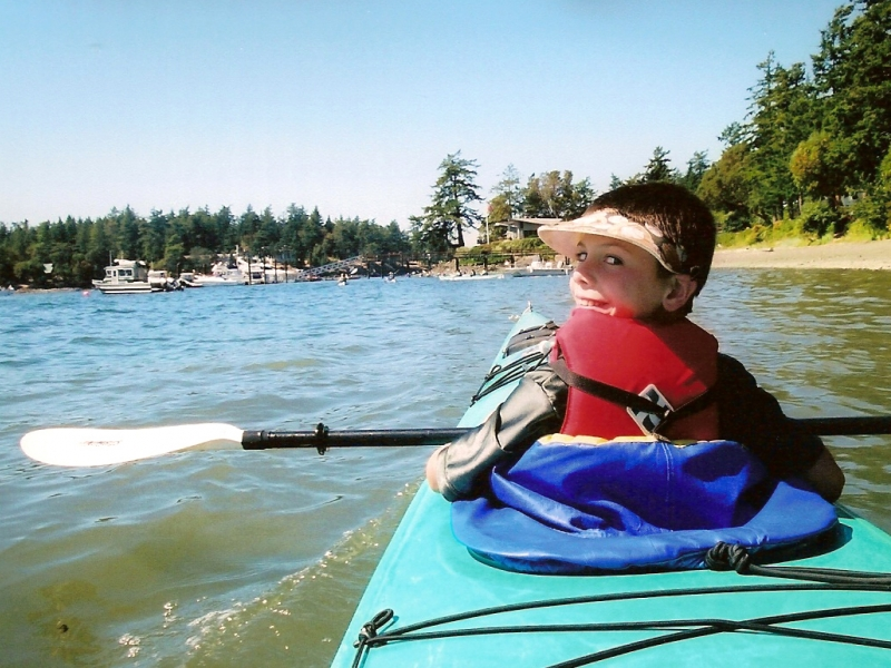 Kids Kayak Tours from San Juan Island
