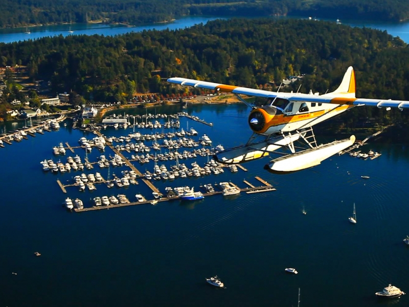 Fly directly to Roche Harbor with Kenmore Air