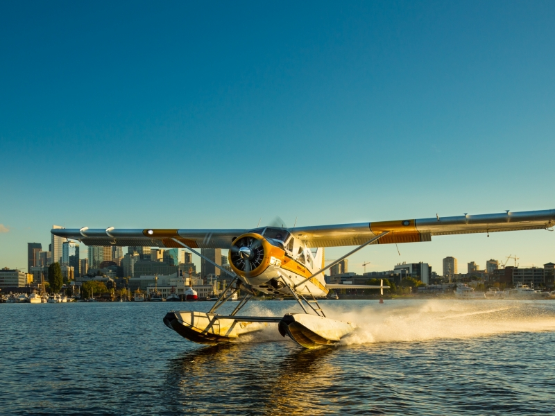 Depart from downtown Seattle with Kenmore Air