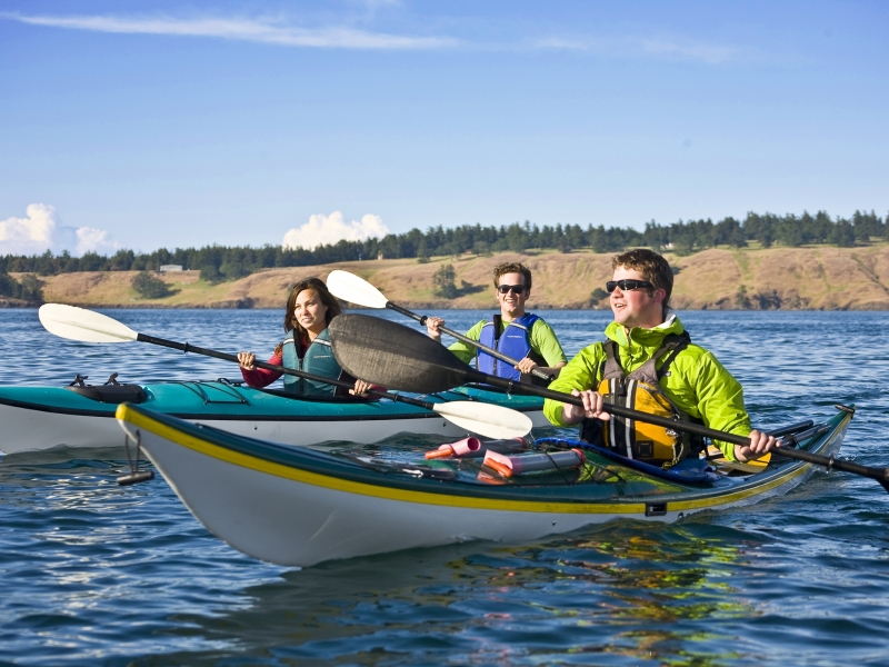 Sea Kayak Rentals from San Juan Island