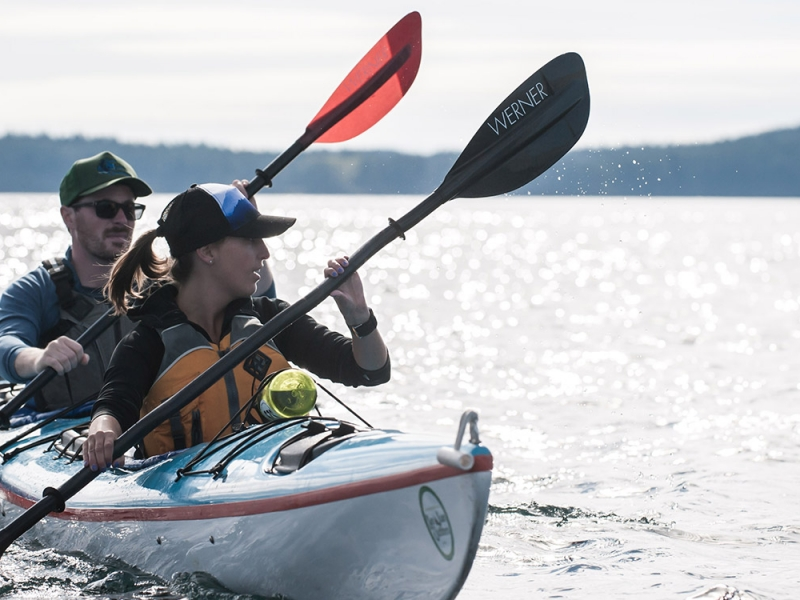 Join an overnight kayak tour of the San Juan Islands