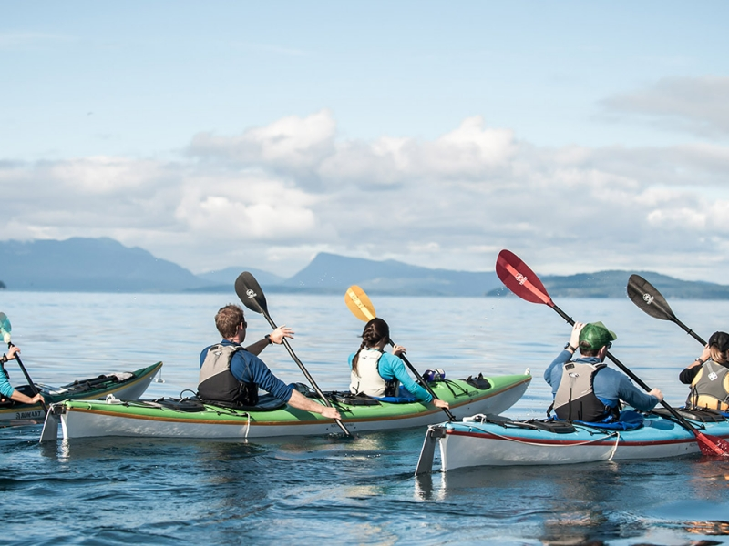 Kayak camping tours in the San Juan Islands gets you to see the best places