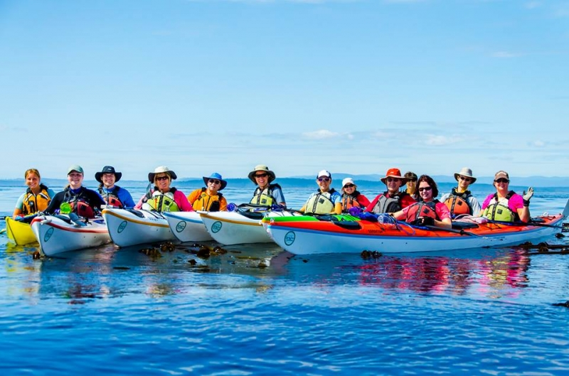 Join a tour with San Juan Island Outfitters and have an adventure
