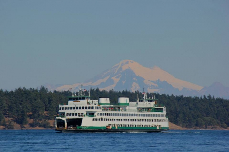 Ferry to San Juan Island from Anacortes - only a short drive from downtown Seattle