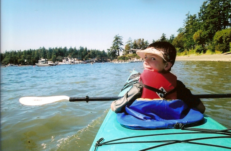 Kids Kayak Tour Friday Harbor San Juan Island