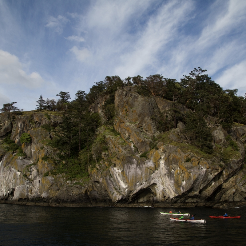 Turn Point overnight kayak tours