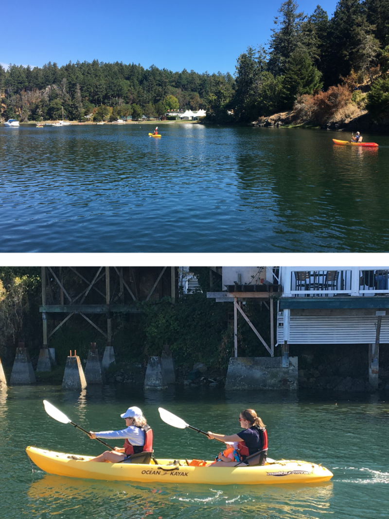 kayak rentals from Roche Harbor