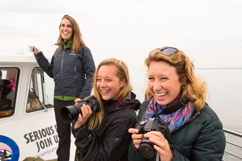 An easy day trip from Seattle to have a private whale watch tour with San Juan Island Outfitters