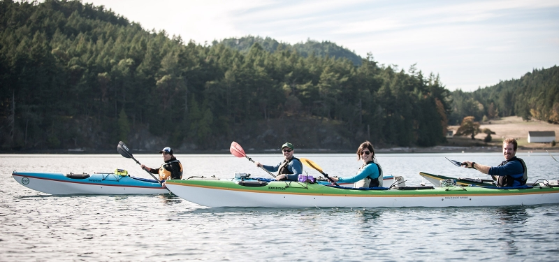 San Juan Outfitters takes kayak tours through orca territory