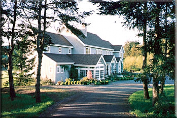Exterior view of Inn on Orcas Island